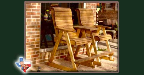 Sawdust & Splinters has been building quality outdoor wood furniture for years. Call and become a dealer today!