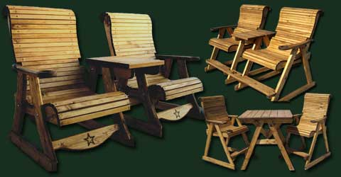 Sawdust and Splinters builds from scratch quality wood outdoor furniture in Gatesville, Texas. Become a dealer, call today!
