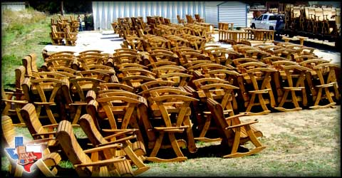Sawdust & Splinters, manufacturing quality outdoor furniture for our dealers.