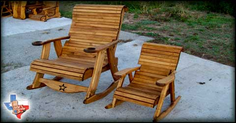 Wholesale Manufacturer of Quality Outdoor Wood Furniture, Sawdust and Splinters in Gatesville, Texas USA.